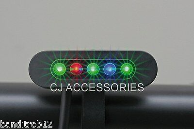 Universal Small 5 LED Warning Idiot Light Motorcycle Streetfighter Cafe Racer