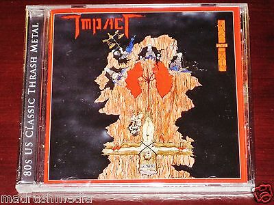 Impact: Take The Pain CD 2011 Bonus Tracks Stormspell Records USA SSR-DY51 NEW