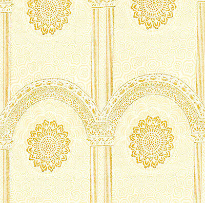 Dolls House Wallpaper 1/12th 1/24th scale Cream Quality Paper #23