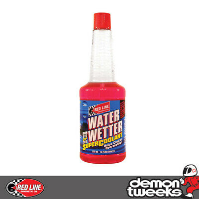 1 x Red Line Water Wetter Super Coolant - Cooling/Radiator Additive - 355ml