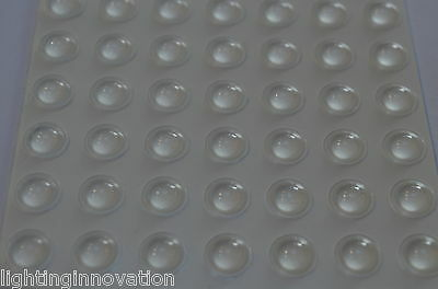 49 Buffer Pads Kitchen Door Domed Anti Slam Cabinet Cupboard Protector/stop/dots