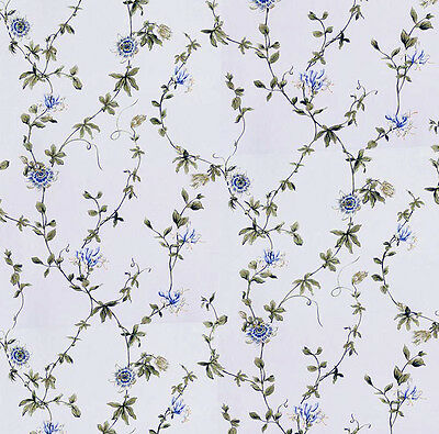 Dolls House Wallpaper 1/12th 1/24th scale Blue Quality Paper #54