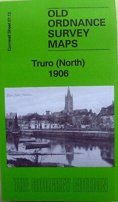 Old Ordnance Survey Maps Truro (North ) Cornwall 1906  Godfrey Edition New