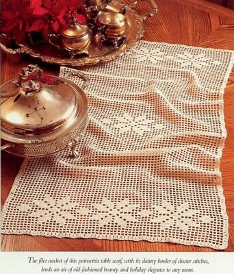 CROCHETED TABLE RUNNER PATTERN « CROCHET FREE PATTERNS