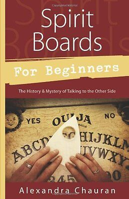 Spirit Boards for Beginners NEW Book Instructions Self Protection tip A. Chauran