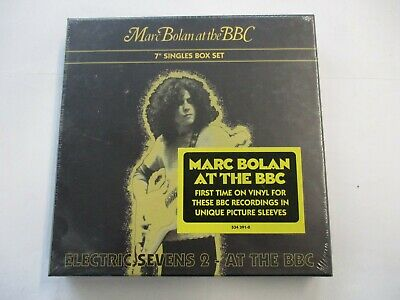 "Marc Bolan - At The Bbc - 4X7"" Vinyl Boxset 2014 - Brand New Sealed - Rsd"
