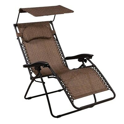Charmant Zero Gravity Chair Oversized Lounge Chair With Canopy By Summer Winds