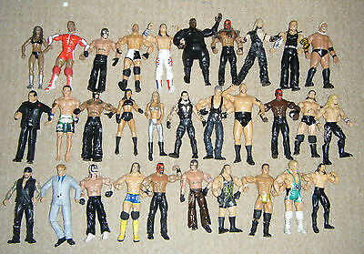 WWE WRESTLING ACTION FIGURE SERIES DELUXE TNA CLASSIC LEGENDS AGGRESSION MATTEL
