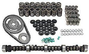 Lunati 10120702K Voodoo Hydraulic Flat Tappet Camshaft Complete Kit; Chevy Sma