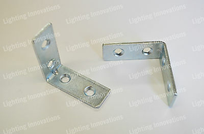 RIGHT ANGLE METAL L BRACKET 40×16mm CORNER BRACE FIXING SUPPORT REPAIR BRACKET