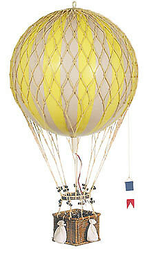 Authentic Models Royal Aero Balloon, True Yellow
