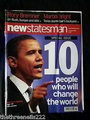 New Statesman - 10 People Who Will Change The World - Oct 17 2005