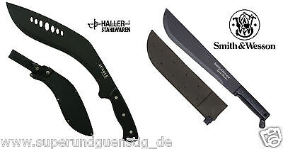 Machete Messer Smith & Wesson Guide Master oder Haller Jungle Master zur Auswahl