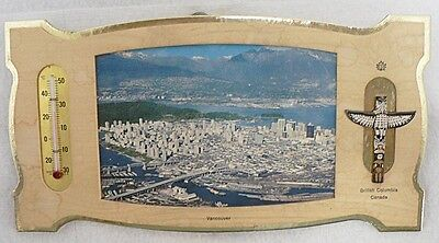 VINTAGE THERMOMETER ADVERTISING VANCOUVER BRITISH COLUMBIA, CANADA
