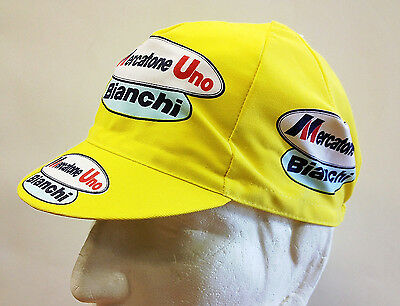 Mercatone Uno Cycling Cap - Made in Italy by Apis