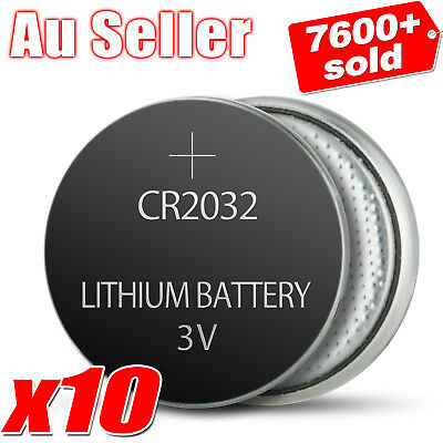 10x CR2032 3V LITHIUM CELL Battery 5004LC 2032 ECR2032 Car Key Toys Batteries OZ
