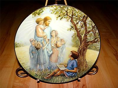 """""""I Love To Hear The Story"""" BELOVED HYMNS OF CHILDHOOD by Cicely Barker Plate"""