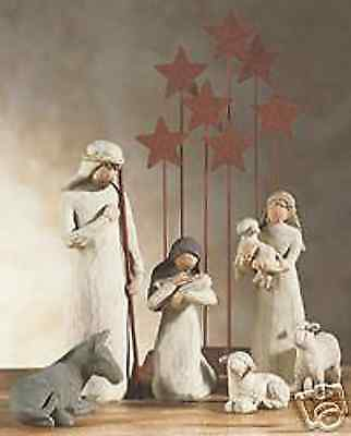 Demdaco Willow Tree Nativity 7 Piece Set