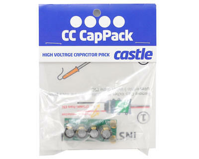 Castle Creations Cc Cappack High Voltage Hv Capacitor Bank Cap Pack 011-0002-02
