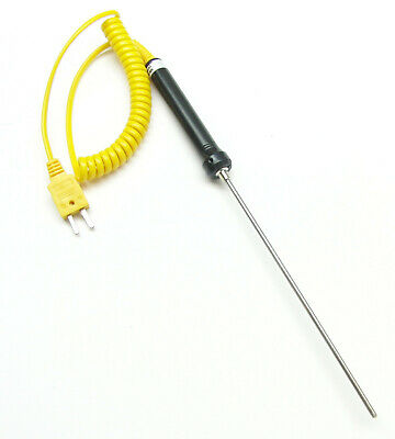 K-Type Thermocouple Stainless Steel Sensor for Lead Bullet Casting Melting TC-3