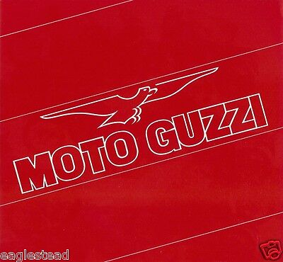 Motorcycle Brochure - Moto Guzzi - Product Line 19 Model Photos - 1984 (DC30)