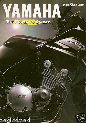 Motorcycle Brochure - Yamaha - Product Line Overview - 39 models - 1995 (DC35)
