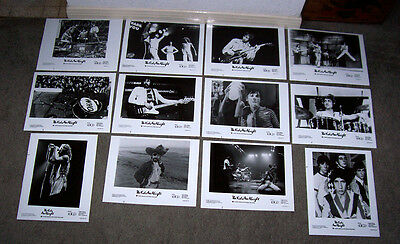 THE KIDS ARE ALRIGHT stills THE WHO/KEITH MOON original 1979 set of 12 bw photos
