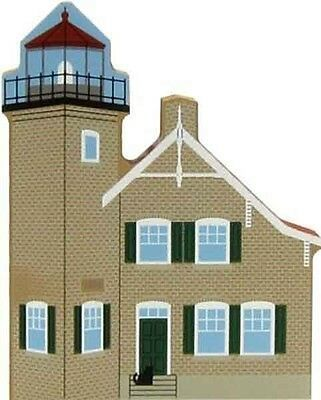 Cat's Meow Village Wisconsin Eagle Bluff Lighthouse #6994 NEW Ship Discounts