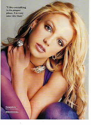 Britney Spears-2001 magazine picture