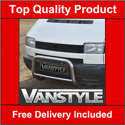 Vw Transporter T4 Short Nose A Bar Bull  Nudge Quality Stainless Steel