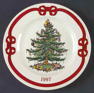 Spode CHRISTMAS TREE (GREEN TRIM) 1997 Collector Plate 7202336