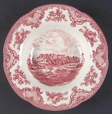 Johnson Brothers OLD BRITAIN CASTLES PINK Rimmed Soup Bowl 4740803