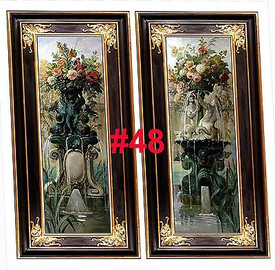 Dolls House Victorian Wall Panels choose from 1/12th or 1/24th scale #48