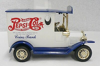 Nice Little Die Cast Pepsi Cola Truck Coin Bank