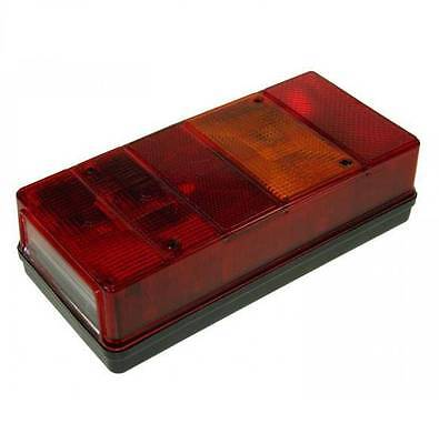 AJBA 6 FUNCTION REAR COMBINATION LAMP FOR TRAILER 225mm