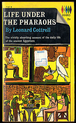 LIFE UNDER THE PHARAOHS Cottrell TEMPO T62 1964 1st Ancient Egypt 16 Pgs Photos
