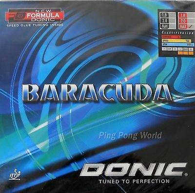 Donic Baracuda Pips-In Table Tennis Rubber