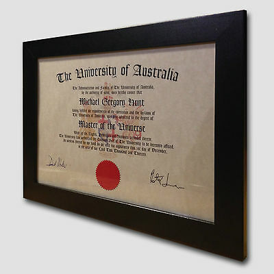 • Professor of Piccolo • Fun Diploma •  Fantastic Gift • Framed or Unframed •
