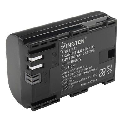 7.4V LP-E6 LPE6 Decoded rechargeable Battery for Canon EOS 5D Mark II III