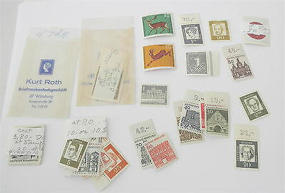 Lot of Stamps From 1960's GERMANY~~All Uncanceled~~Nice