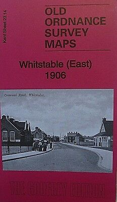 Old Ordnance Survey Maps Whitstable East Kent 1906  Godfrey Edition  Brand New