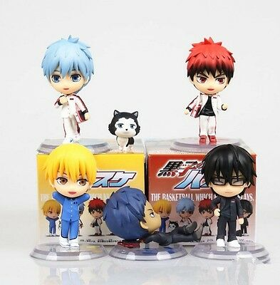 Kuroko no Basuke Basket Set 6 Toy Figure Figurine Doll Series 3 New In Box