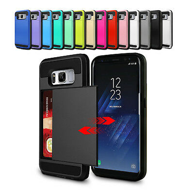Slide Shockproof Heavy Duty Case Cover for Samsung Galaxy S9 S8 PLUS S7 Note 9 8