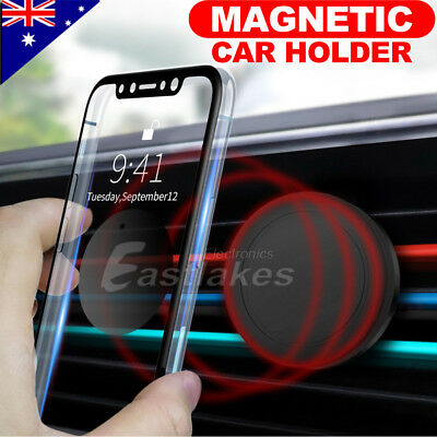 2x Car Magnet Magnetic Air Vent Mount Holder Universal For Mobile Cell Phone