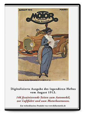 CD Grand Prix de l Automobile Club de France Peugeotwagen MOTOR August 1913