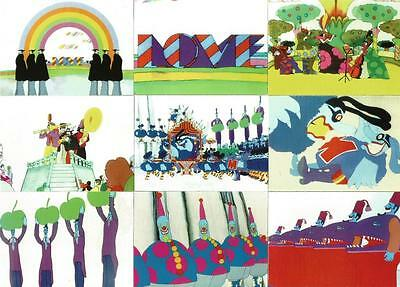 The Beatles Yellow Submarine Collector Cards Full 72 Card Base Set from DuoCards