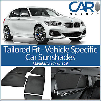BMW 1 Series F20 5dr 2011 ON UV CAR SHADES WINDOW SUN BLINDS PRIVACY GLASS TINT