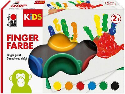 33,29€/L. mara by Marabu Fingerfarbe 6er-Set Fingerfarben