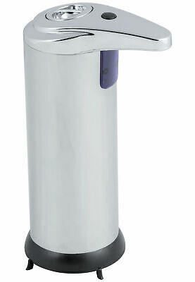 Hausen Automatic Hands Free Chrome Bathroom Kitchen Liquid Soap Dispenser