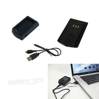 USB Battery Charger for TOSHIBA PX1728, PX1728E-1BRS, Camileo B10 P20 P100 P25